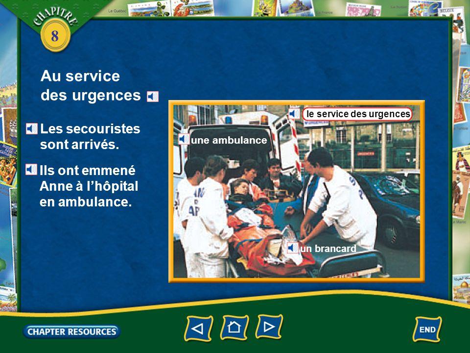 Au service des urgences