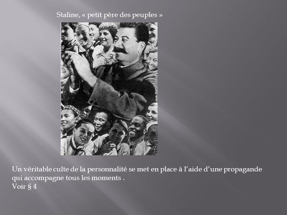 Staline, « petit père des peuples »