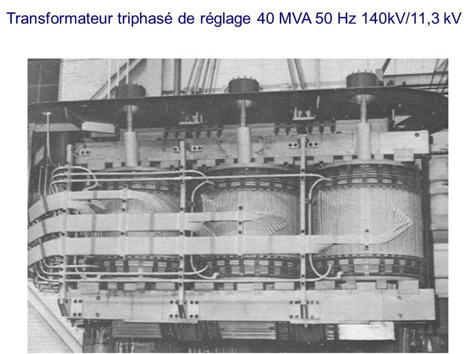 Transformateur triphasé de réglage 40 MVA 50 Hz 140kV/11,3 kV