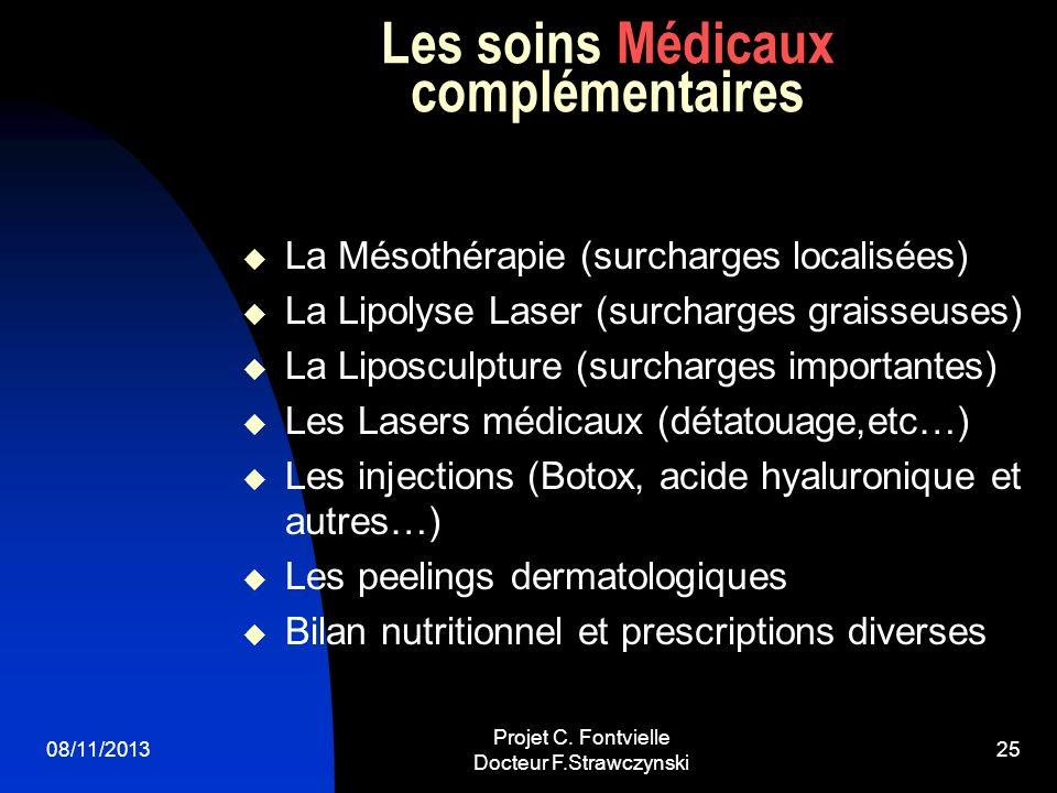 Les soins Médicaux complémentaires