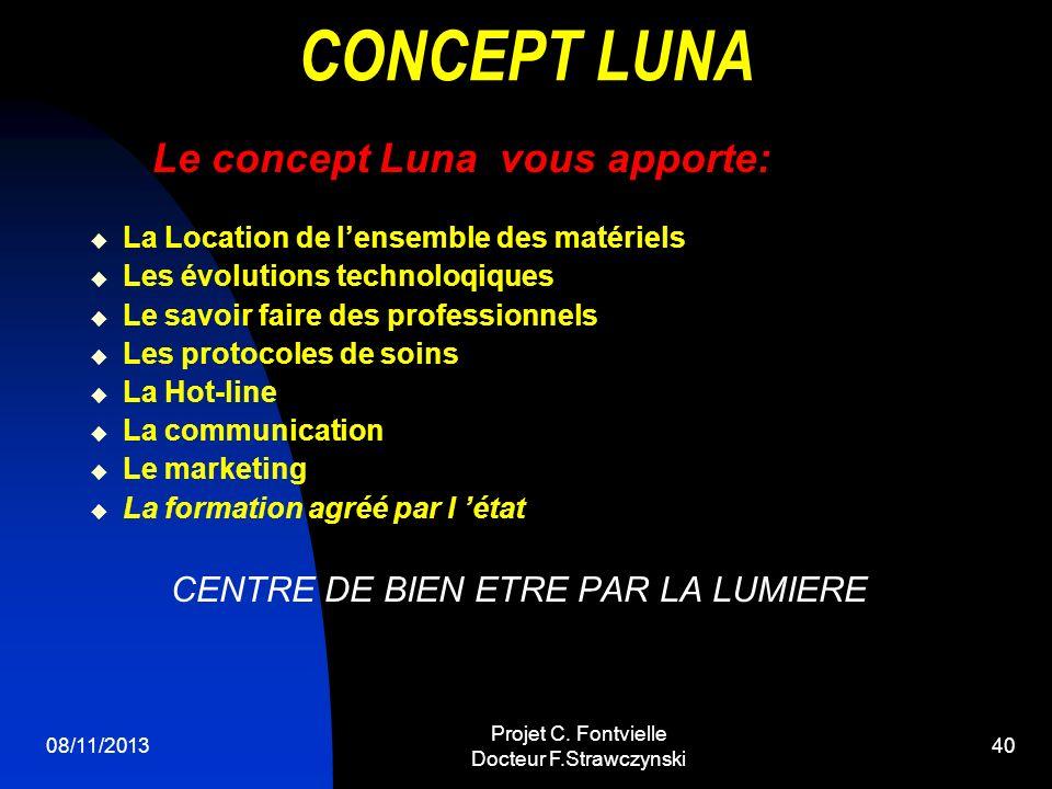 CONCEPT LUNA CENTRE DE BIEN ETRE PAR LA LUMIERE