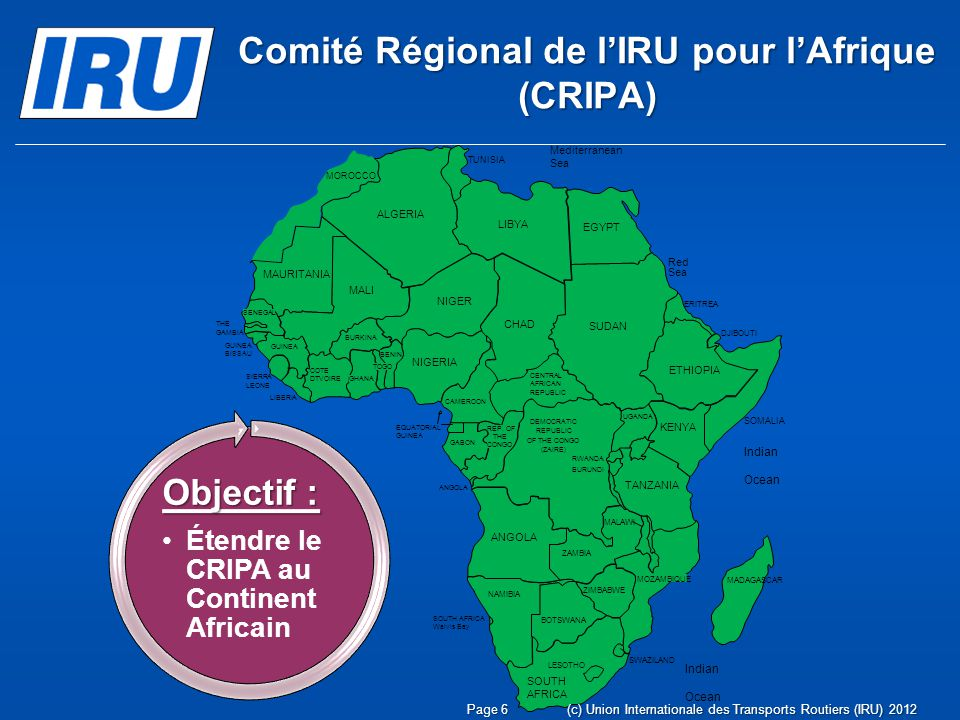 Comité Régional de l'IRU pour l'Afrique