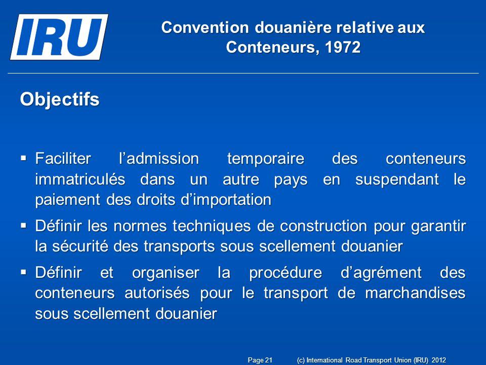 Convention douanière relative aux Conteneurs, 1972
