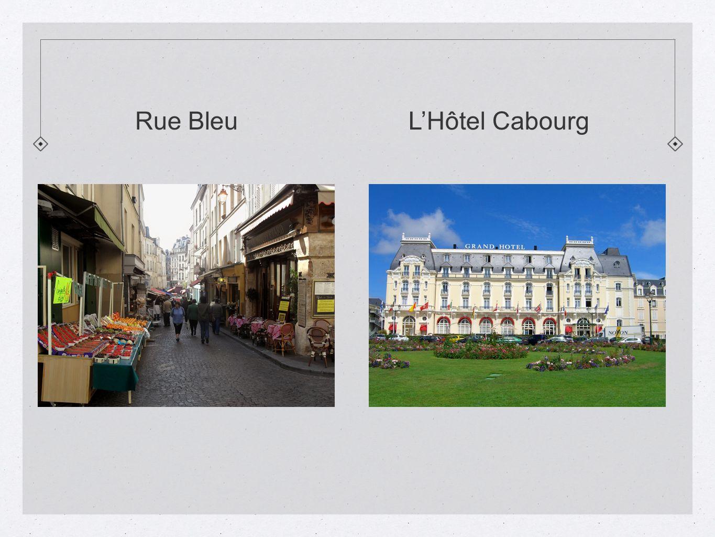 Rue Bleu L'Hôtel Cabourg