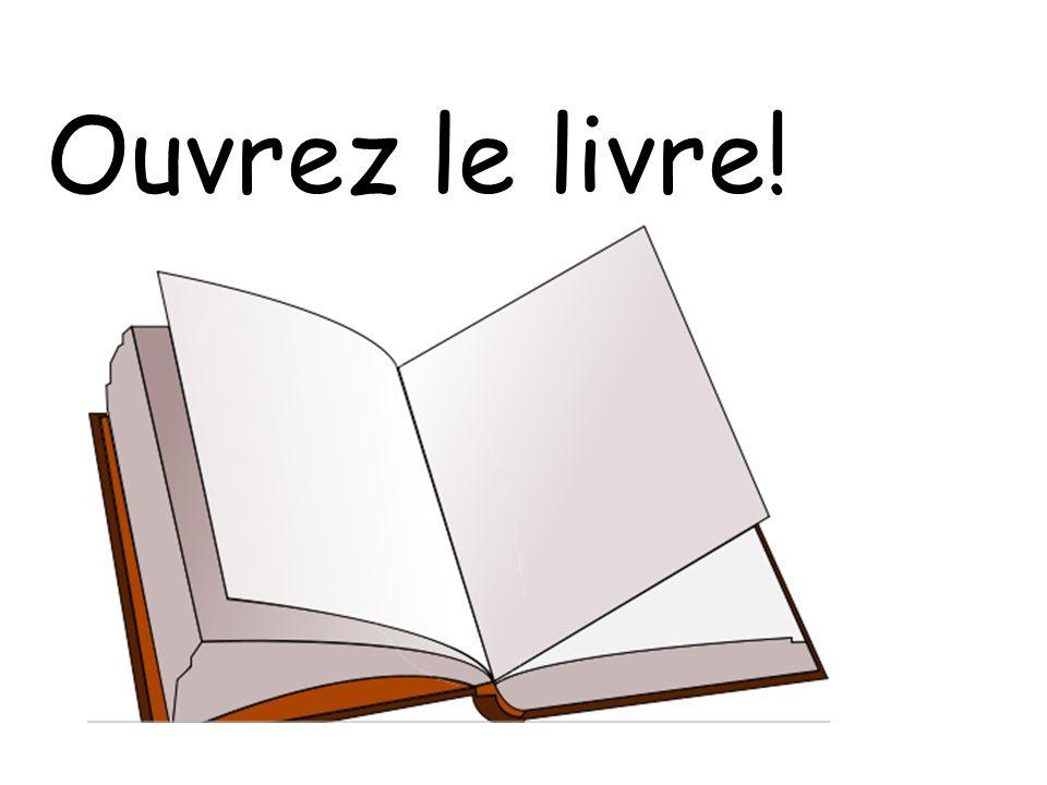 Ouvrez le livre!