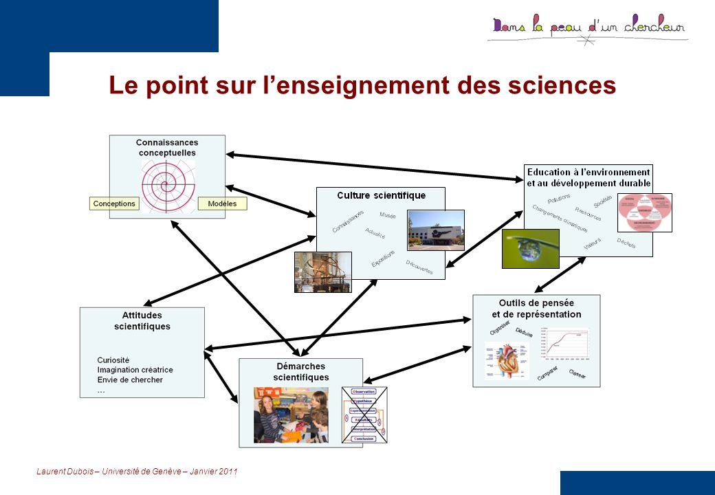 Le point sur l'enseignement des sciences