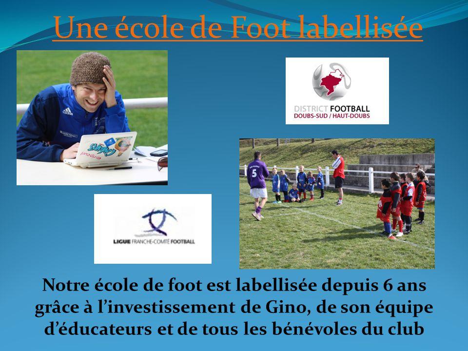 Une école de Foot labellisée