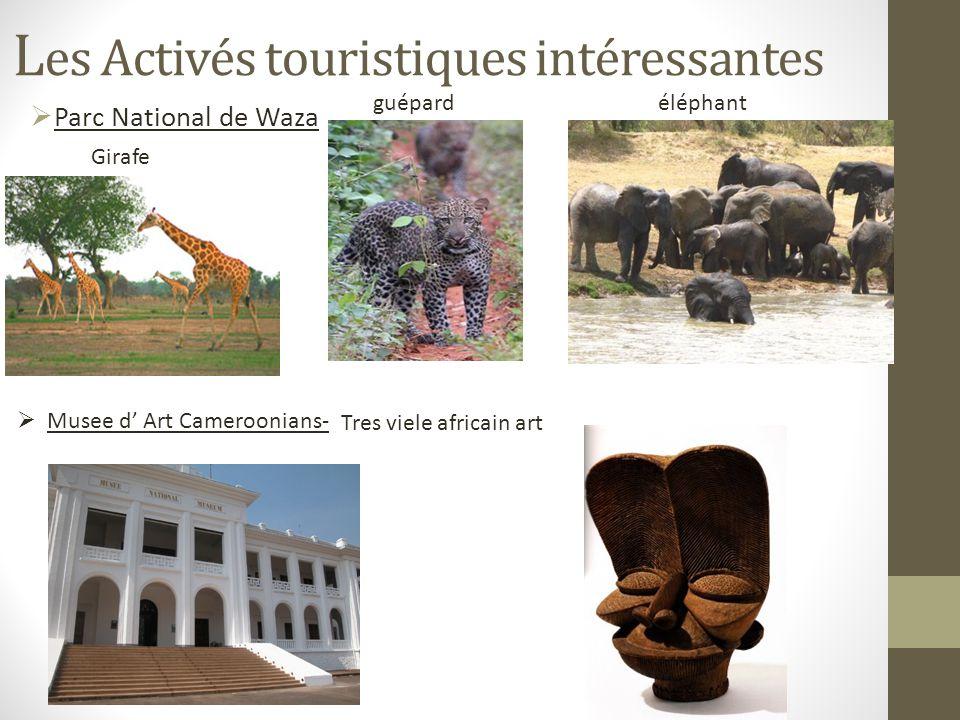 Les Activés touristiques intéressantes