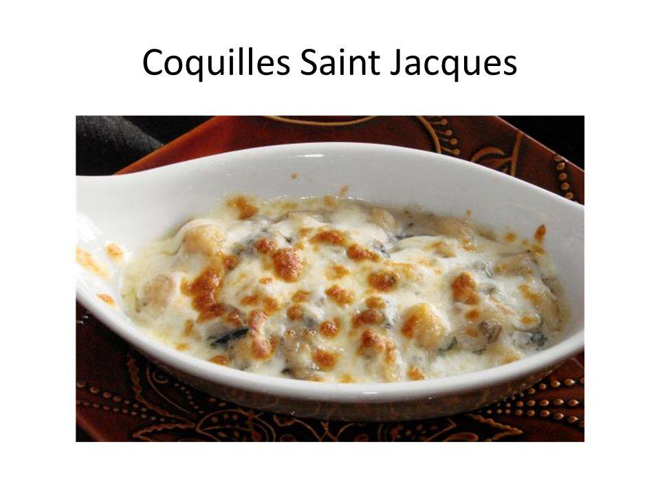 Coquilles Saint Jacques