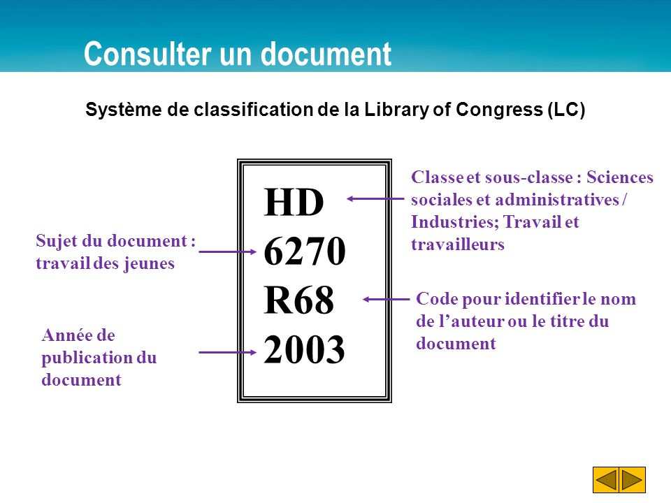 HD 6270 R68 2003 Consulter un document