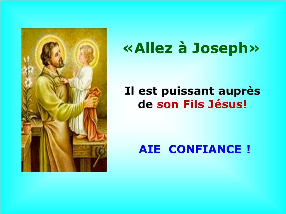 Il est puissant auprès de son Fils Jésus!