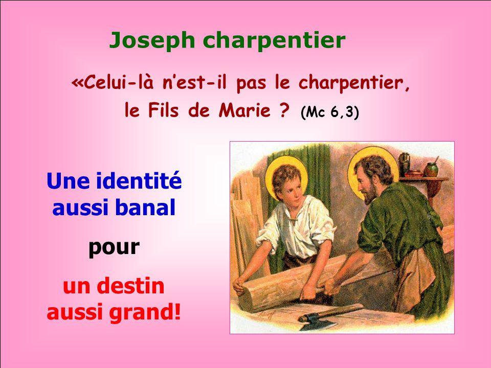 Joseph charpentier Une identité aussi banal pour