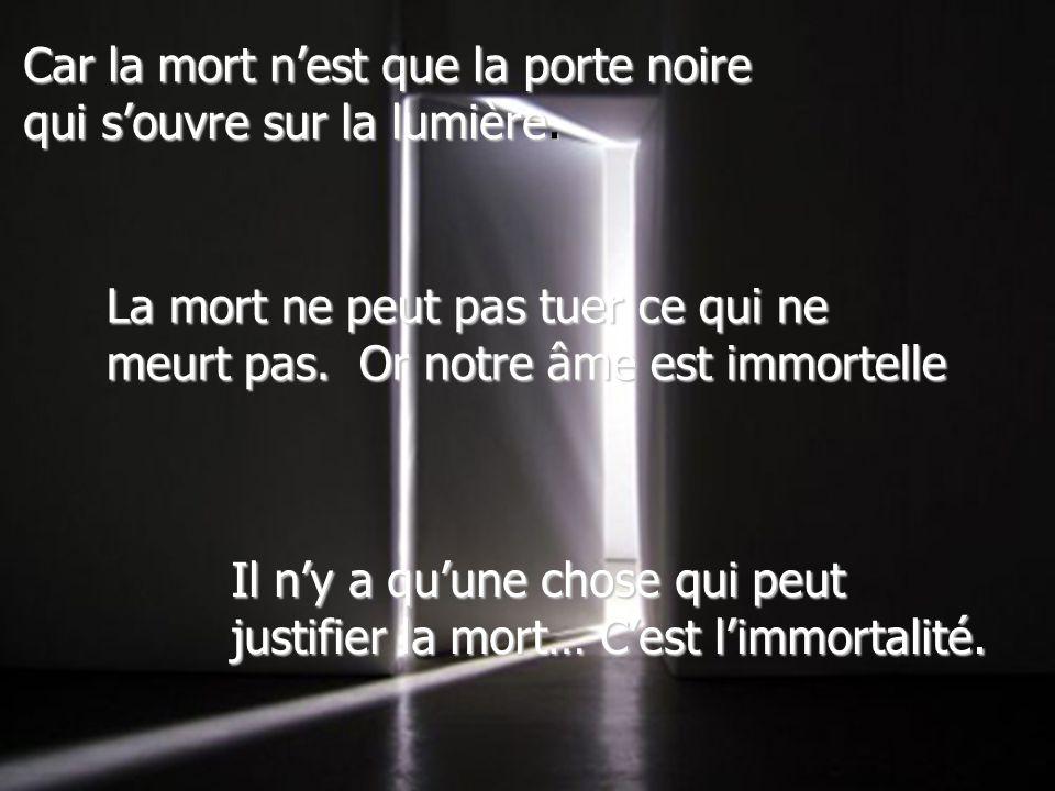 La tombe est un berceau texte de doris lussier ppt for Porte qui s ouvre lumiere