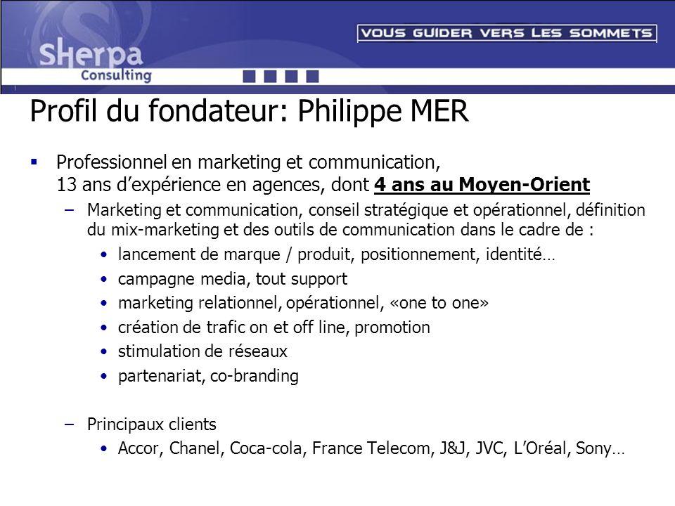 Profil du fondateur: Philippe MER
