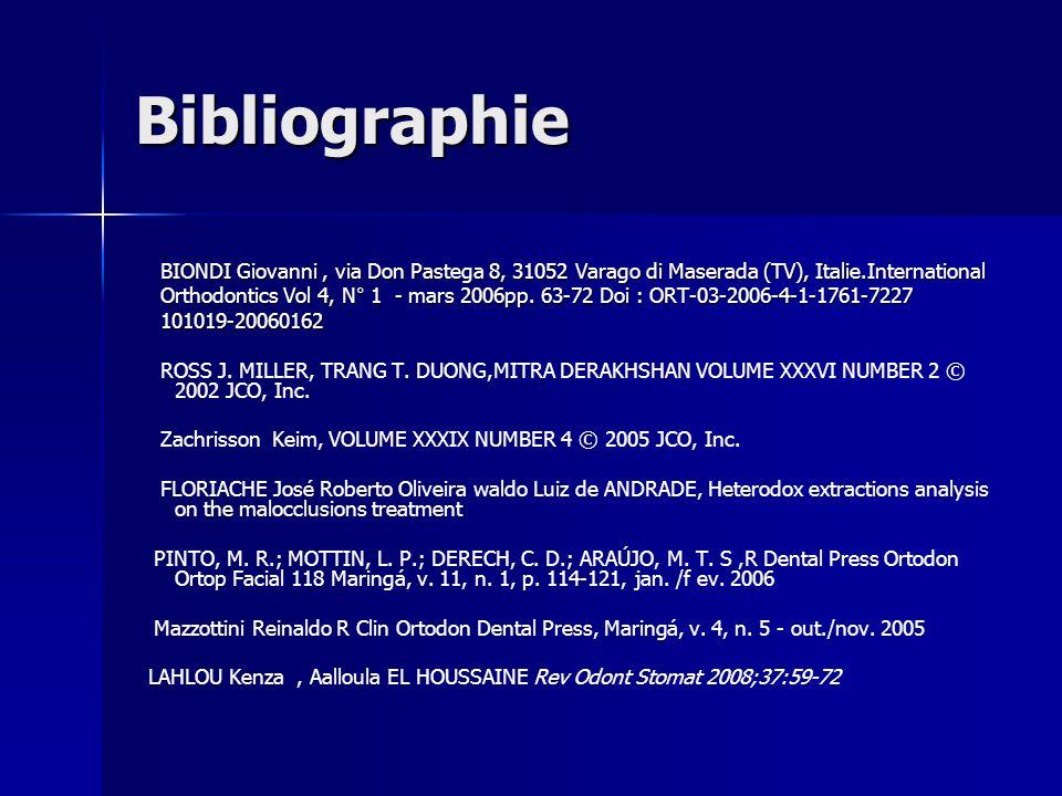 BibliographieBIONDI Giovanni , via Don Pastega 8, 31052 Varago di Maserada (TV), Italie.International.