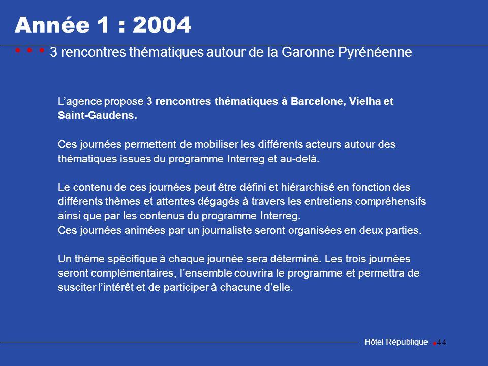 samedi 25 mars 2017Année 1 : 2004. • • • 3 rencontres thématiques autour de la Garonne Pyrénéenne.
