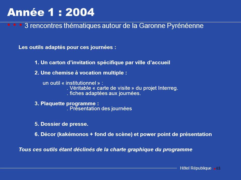 samedi 25 mars 2017Année 1 : 2004. • • • 3 rencontres thématiques autour de la Garonne Pyrénéenne. Les outils adaptés pour ces journées :