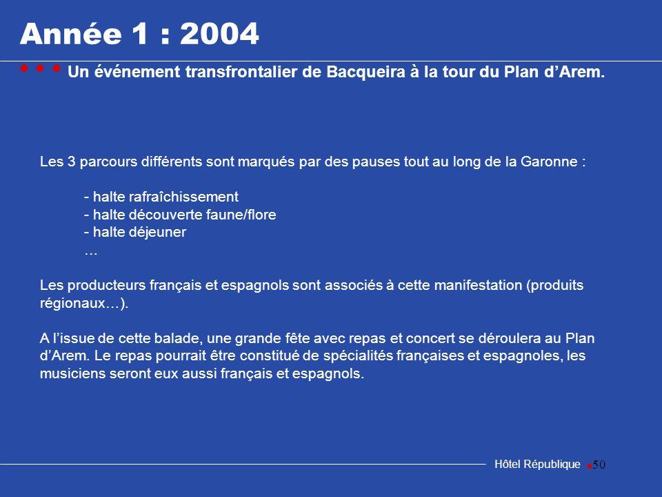samedi 25 mars 2017Année 1 : 2004. • • • Un événement transfrontalier de Bacqueira à la tour du Plan d'Arem.