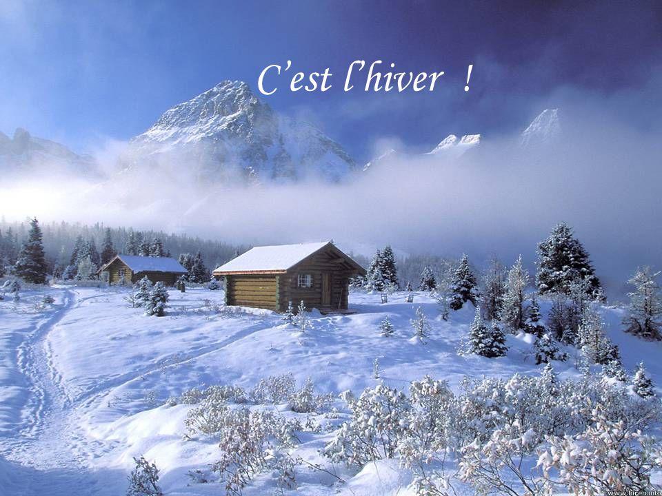 C'est l'hiver !