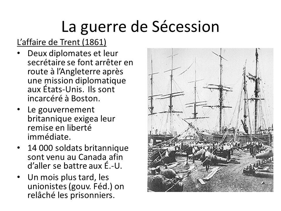 La guerre de Sécession L'affaire de Trent (1861)