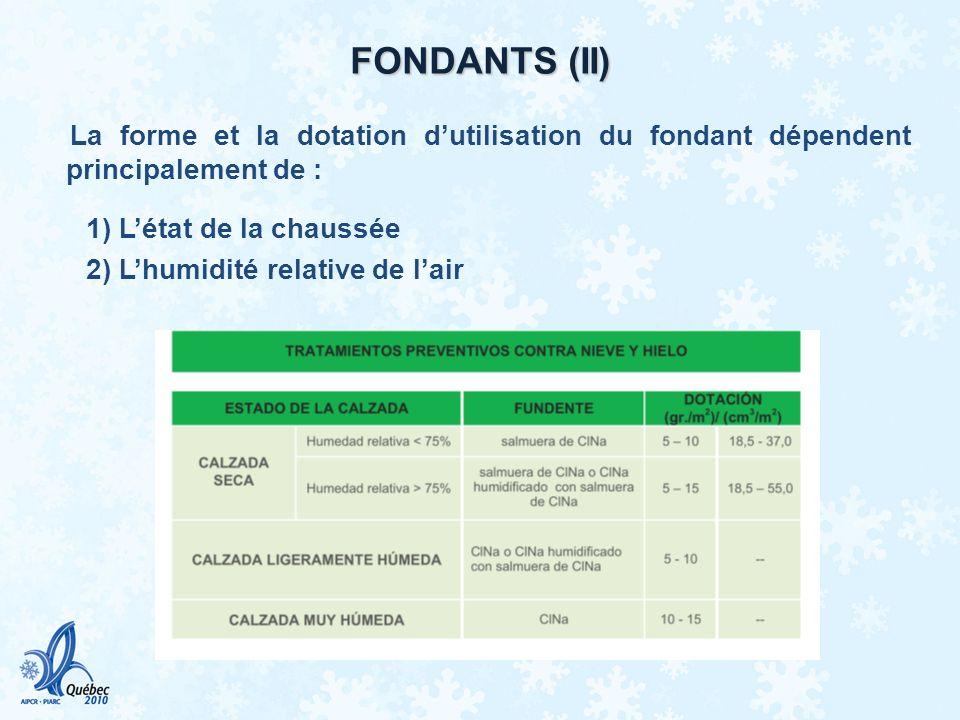 FONDANTS (II)