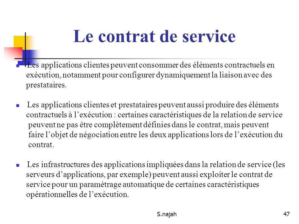 Web service SAID NAJAH S.najah. - ppt télécharger