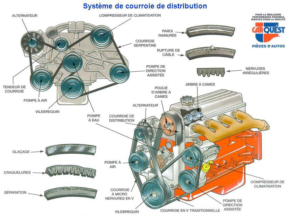 Système de courroie de distribution