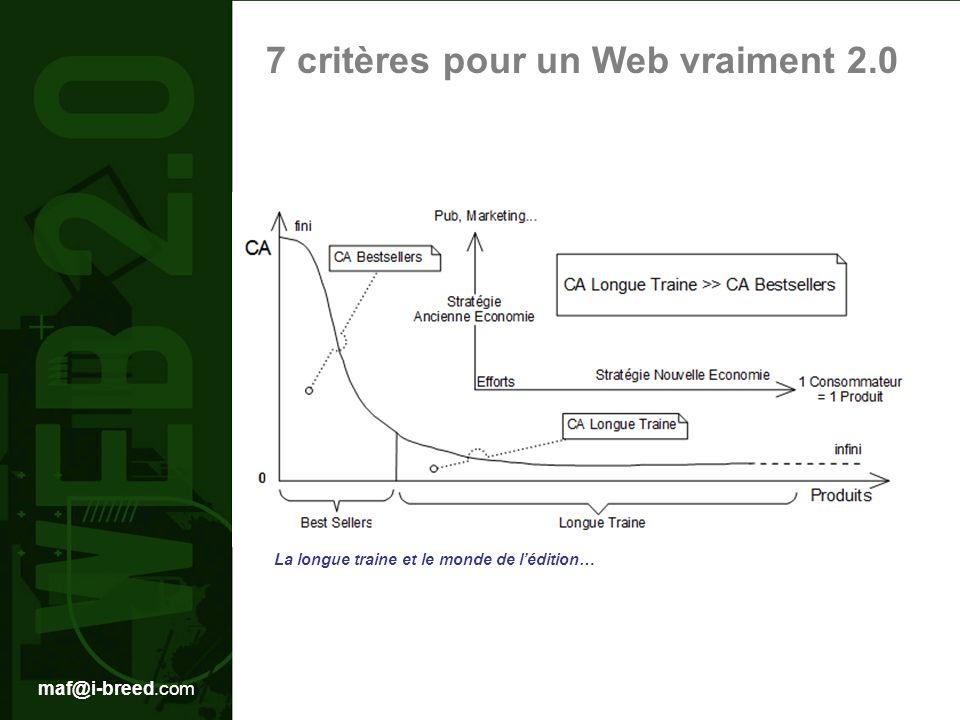 7 critères pour un Web vraiment 2.0