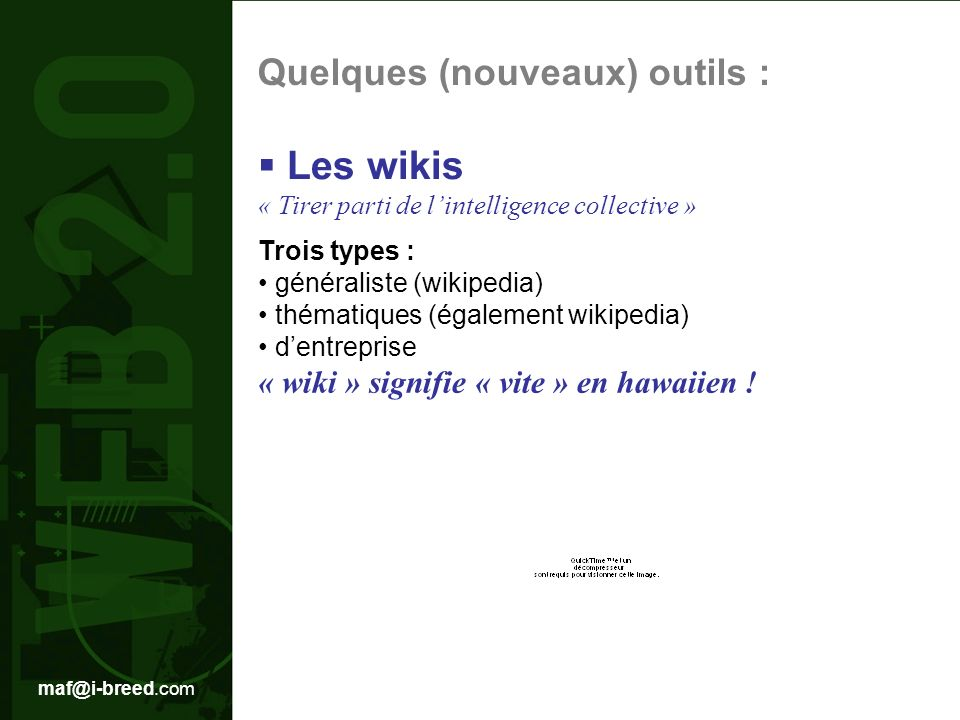 Les wikis « Tirer parti de l'intelligence collective »