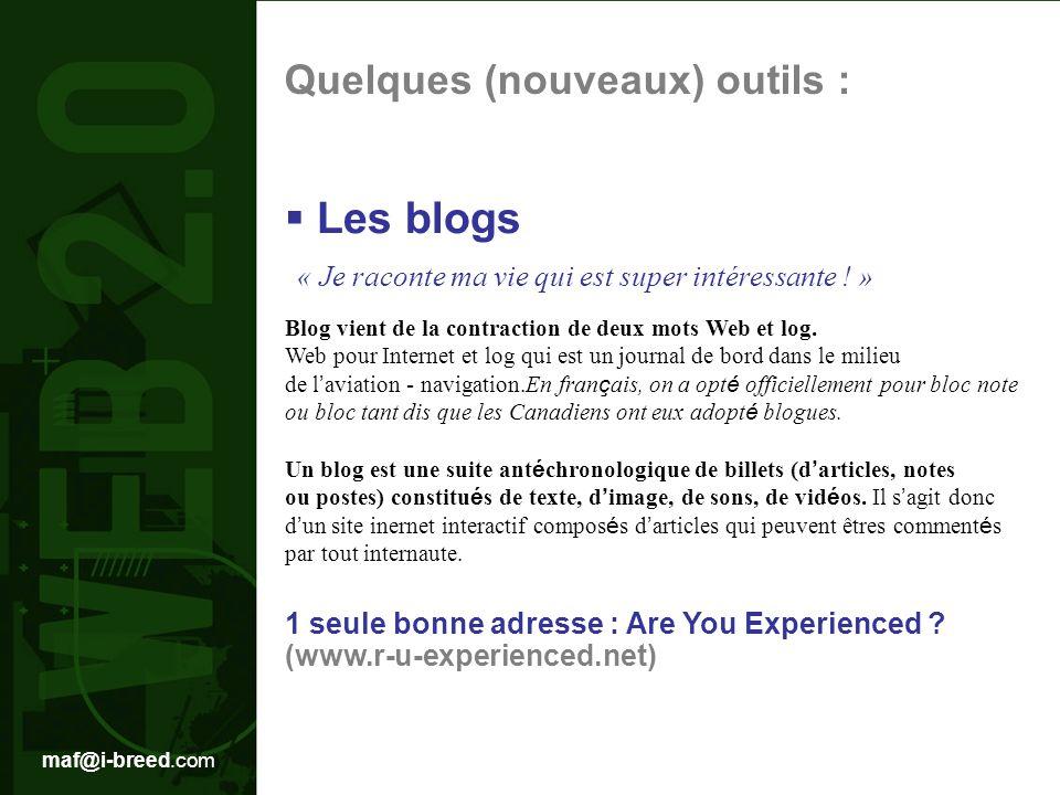 Les blogs « Je raconte ma vie qui est super intéressante ! »