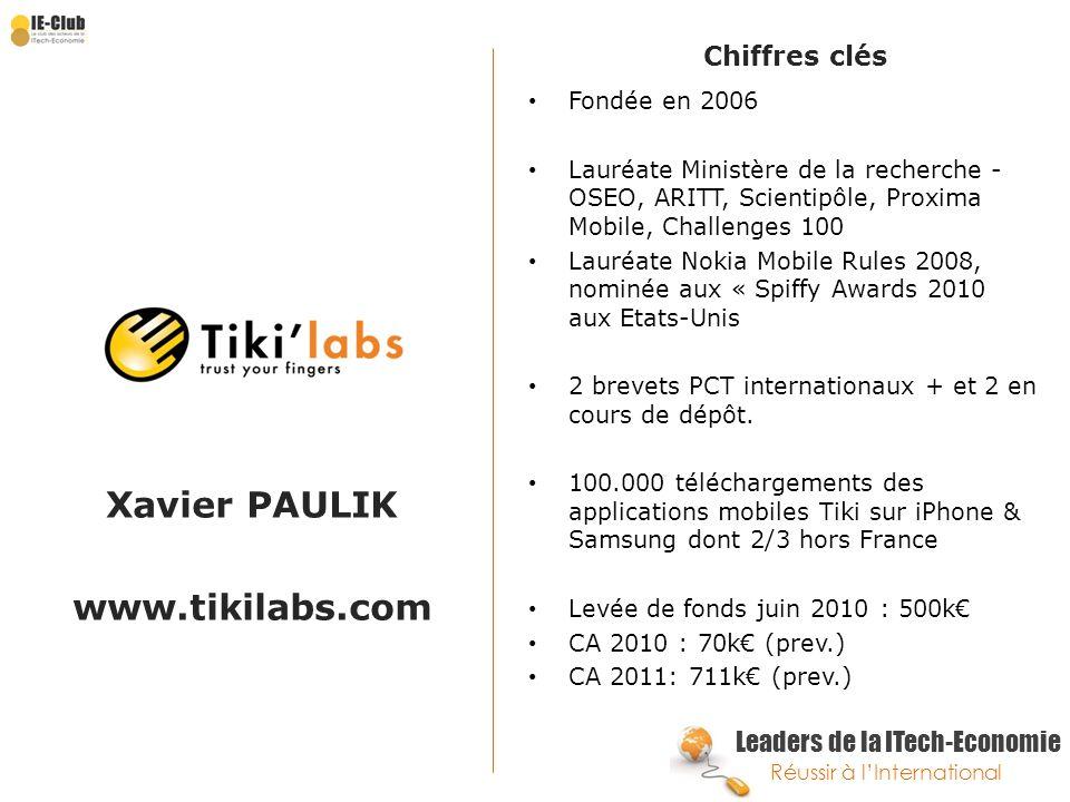 Xavier PAULIK www.tikilabs.com
