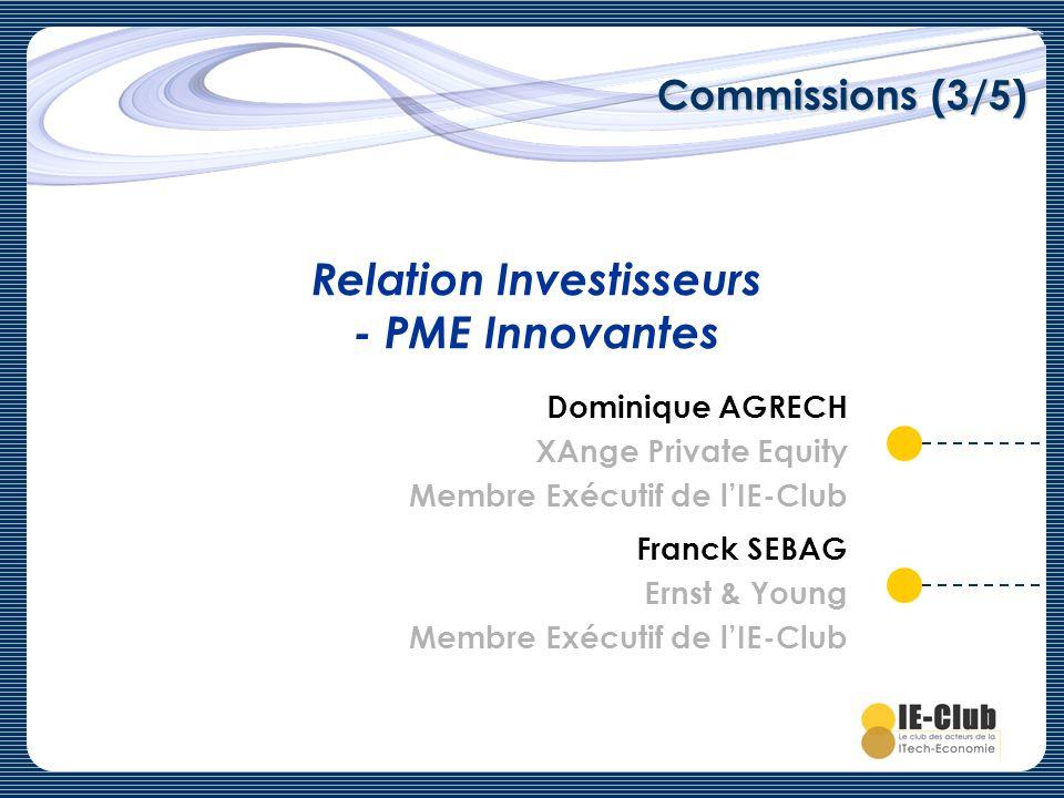Relation Investisseurs - PME Innovantes