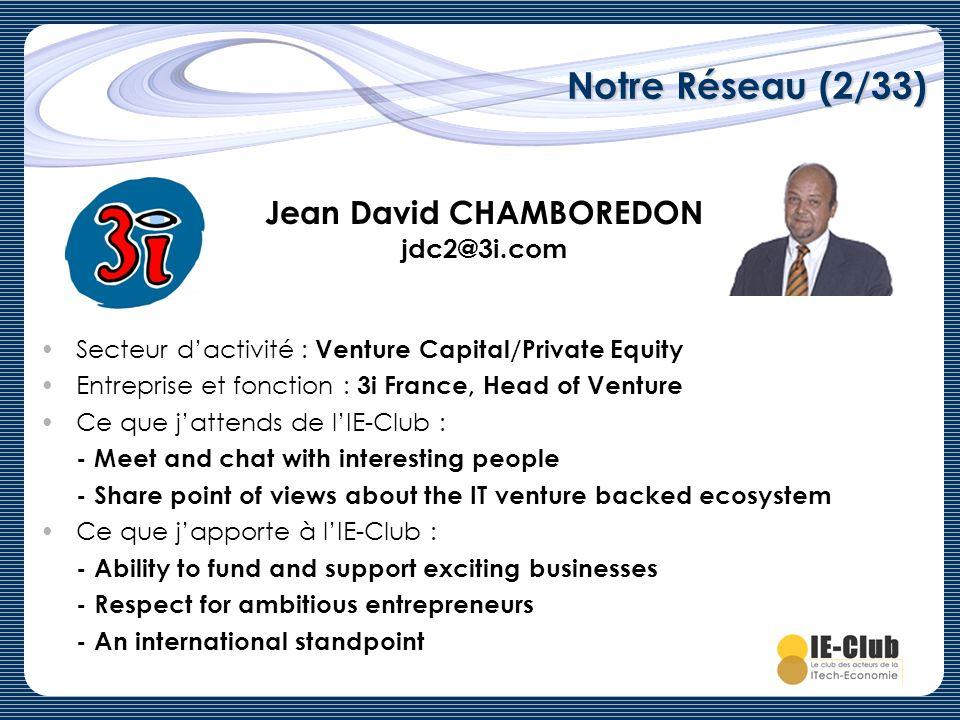 Jean David CHAMBOREDON jdc2@3i.com