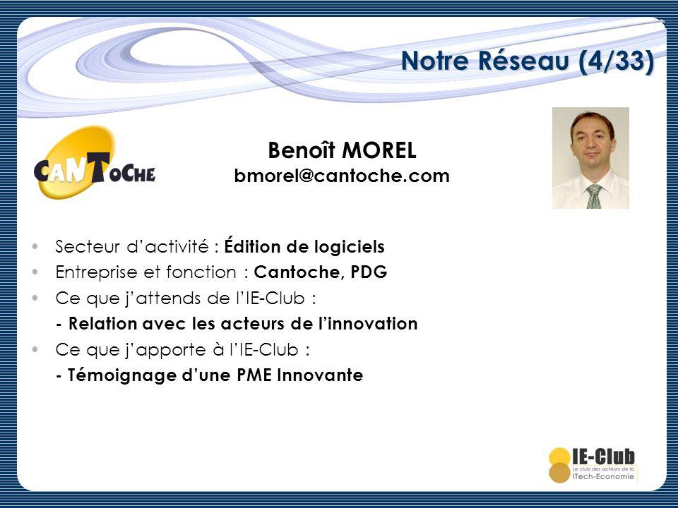 Benoît MOREL bmorel@cantoche.com