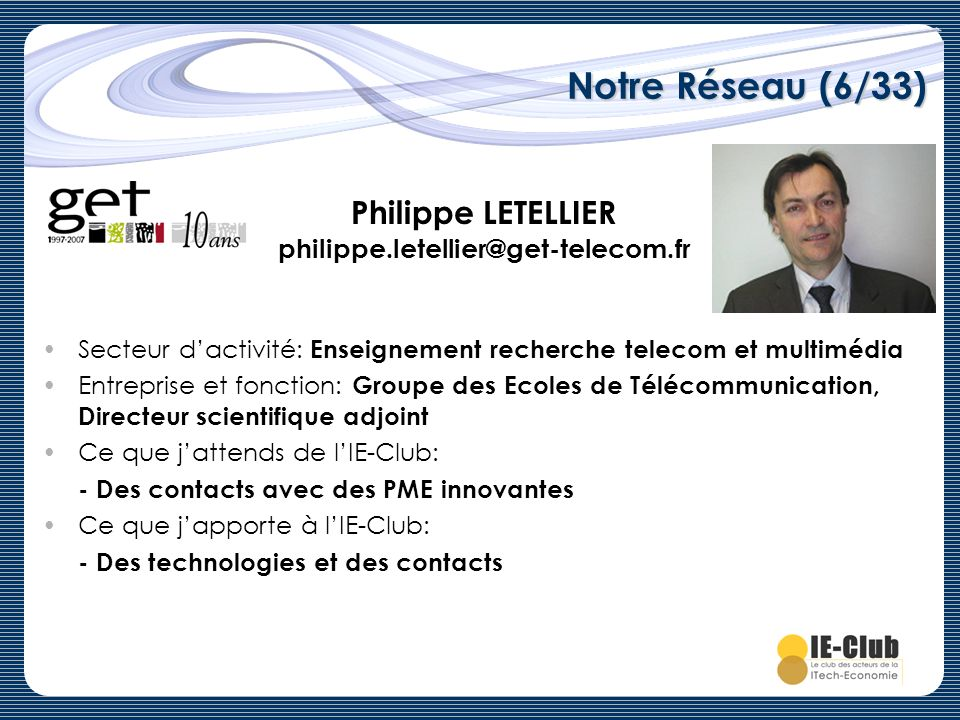 Philippe LETELLIER philippe.letellier@get-telecom.fr
