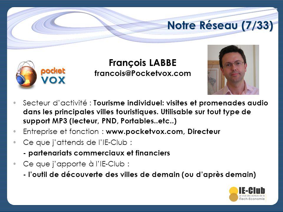 François LABBE francois@Pocketvox.com