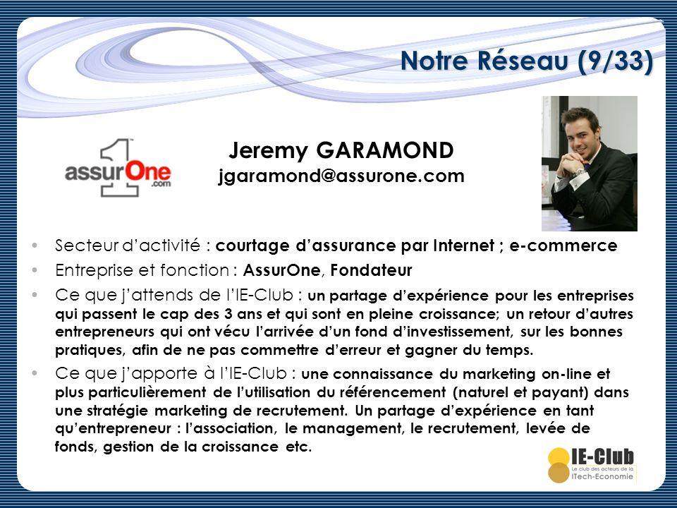 Jeremy GARAMOND jgaramond@assurone.com