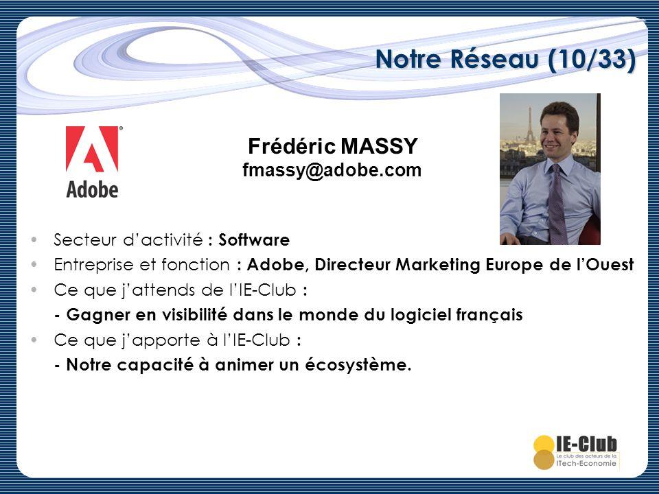 Frédéric MASSY fmassy@adobe.com