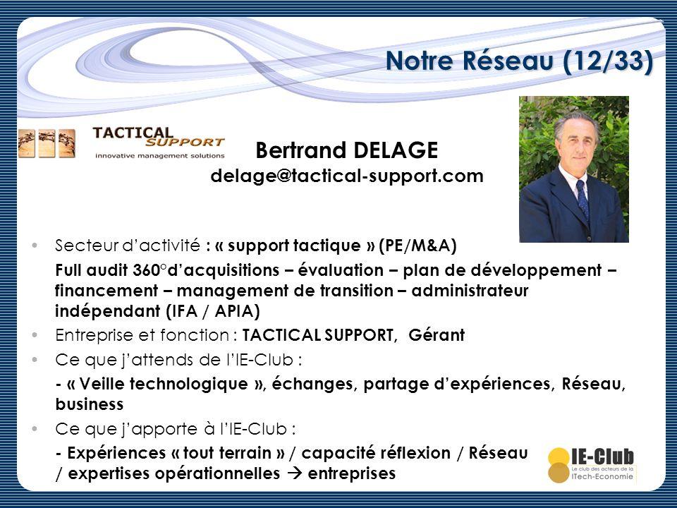 Bertrand DELAGE delage@tactical-support.com