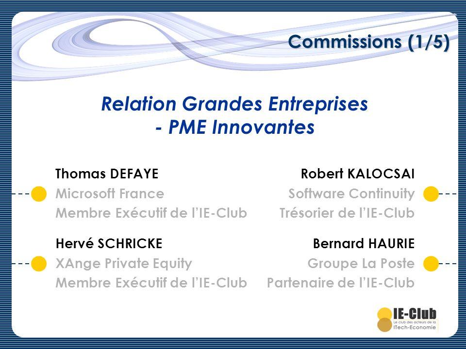 Relation Grandes Entreprises - PME Innovantes