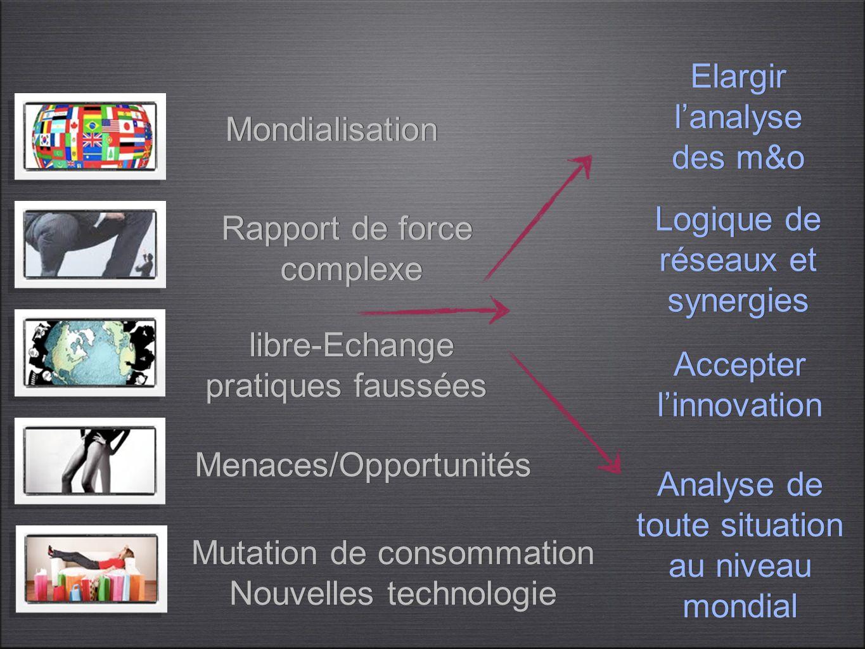Logique de réseaux et synergies Rapport de force complexe