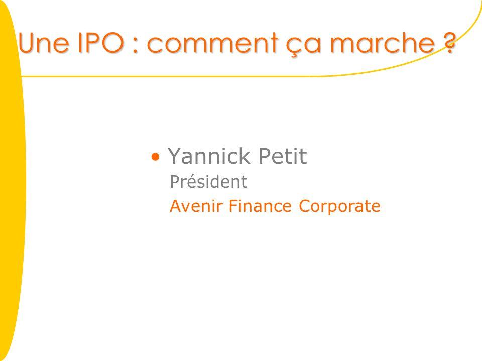 Une IPO : comment ça marche