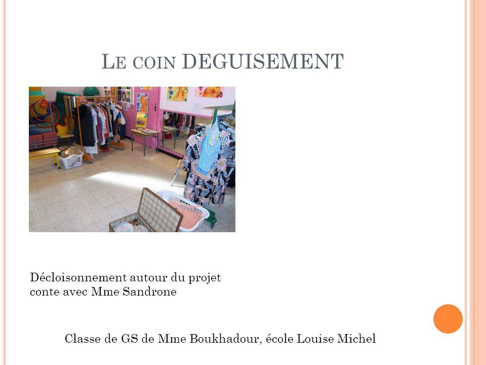 Classe de GS de Mme Boukhadour, école Louise Michel