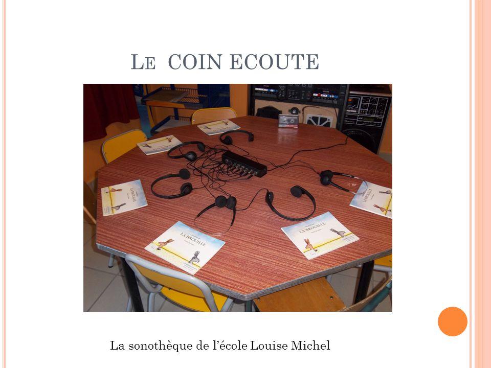 La sonothèque de l'école Louise Michel
