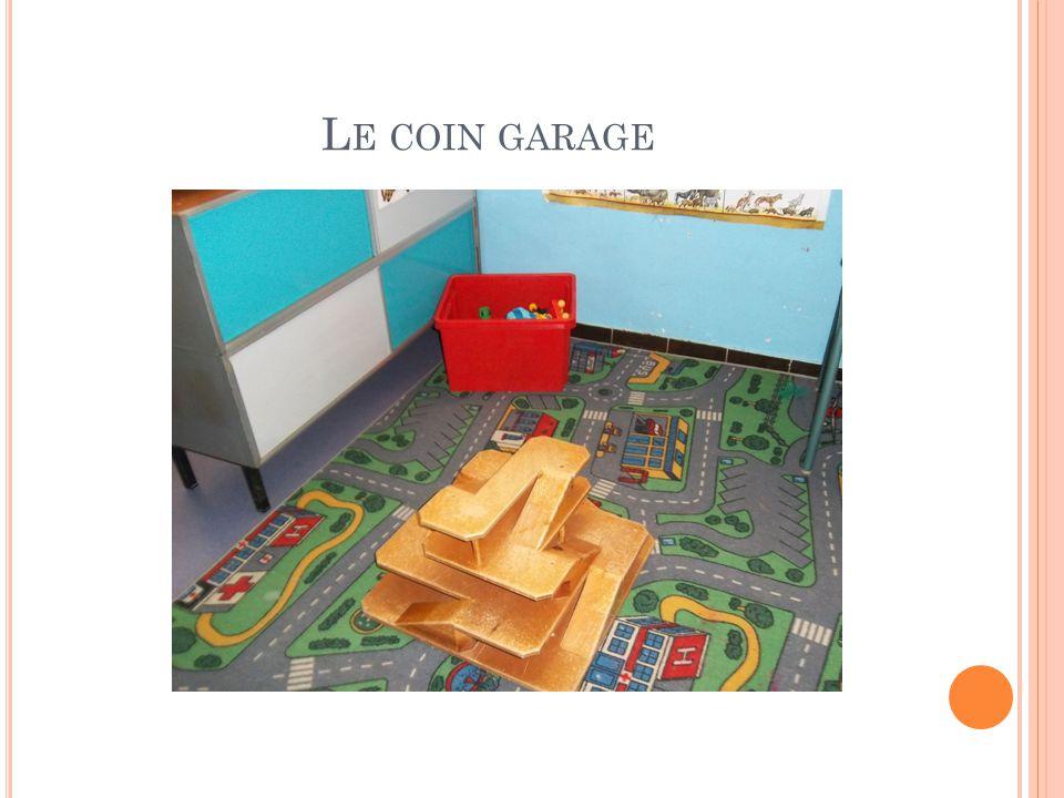 Le coin garage