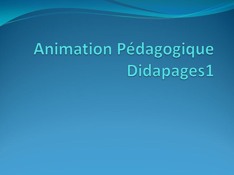 Animation Pédagogique Didapages1