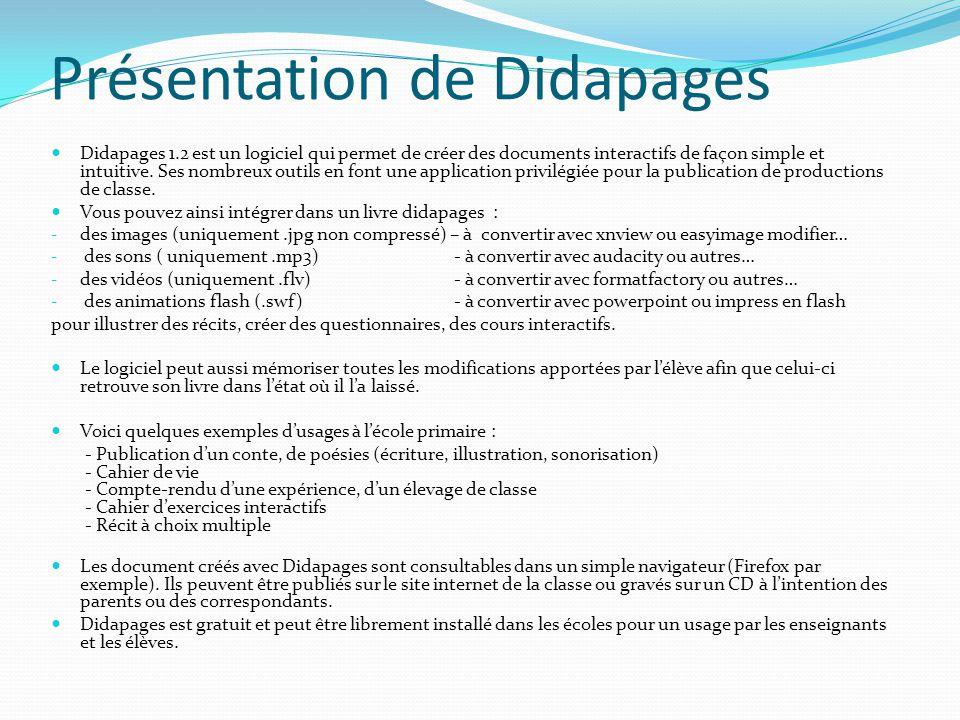 Présentation de Didapages