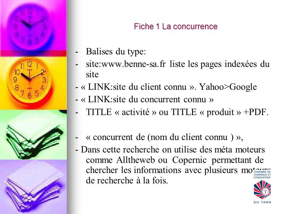 site:www.benne-sa.fr liste les pages indexées du site
