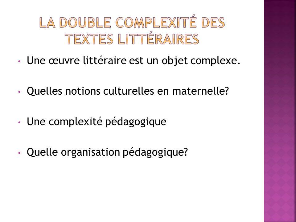 La double complexité des textes littéraires