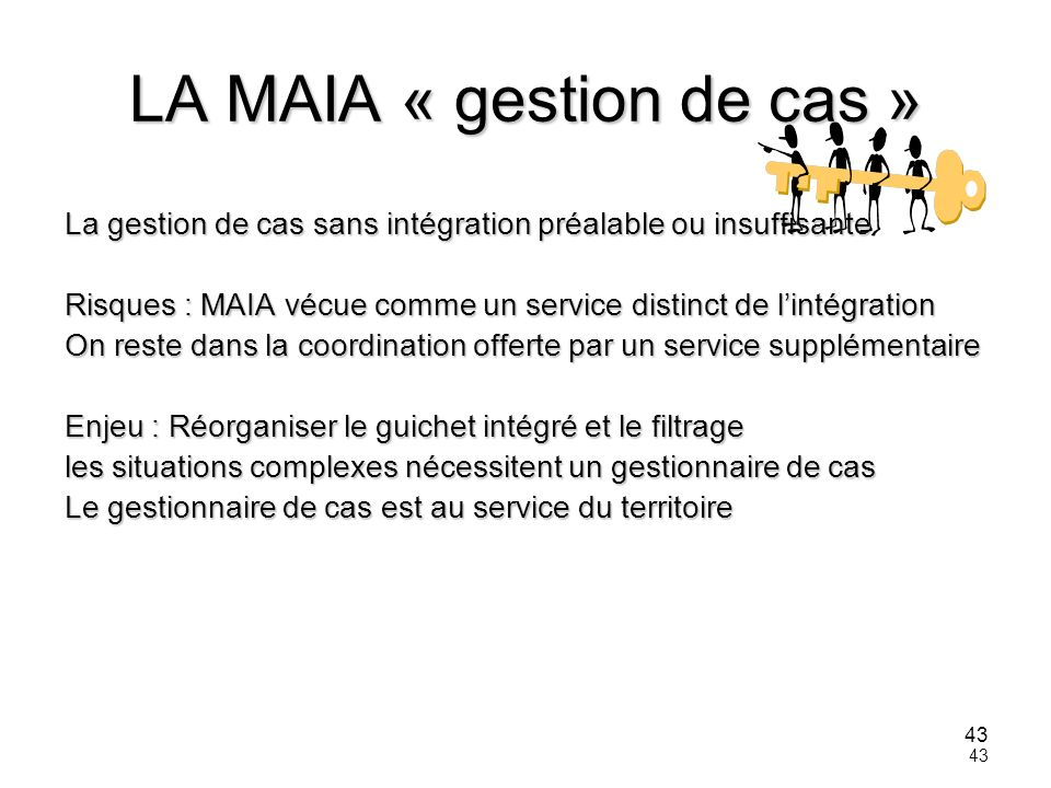 LA MAIA « gestion de cas »